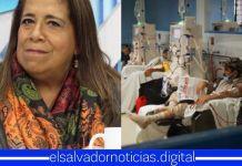 Nidia Díaz afirma que si el pueblo les da otra oportunidad el FMLN luchará por darles un sistema de salud de «primer nivel»