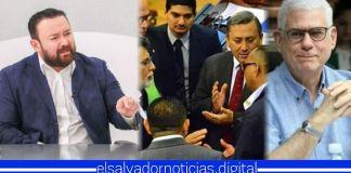 Gallegos: «En la Asamblea hay un matrimonio entre ARENA y el FMLN, y quien los casó fue Rodolfo Parker»