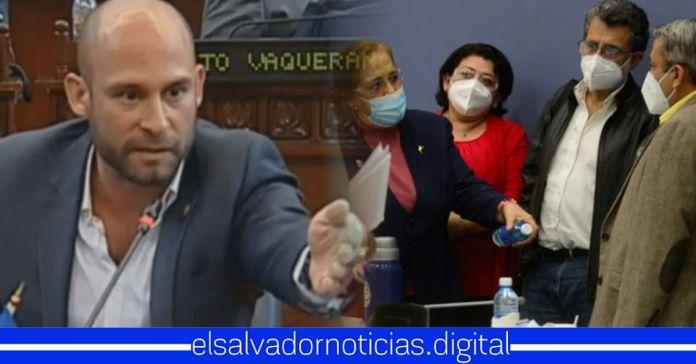 Velásquez Parker confirma que ARENA y FMLN son «aliados natural» contra el Gobierno de Bukele