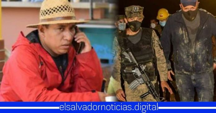 Alcalde de Nejapa se ha pasado todo el día sentado con celular, mientras Ministros arriesgan sus vidas por las familias afectadas