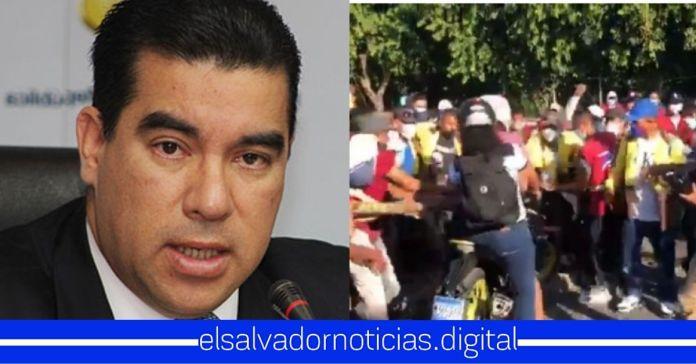 Raúl Melara lleva más de 24 horas sin pronunciarse tras ataques de ARENA y el FMLN a la población
