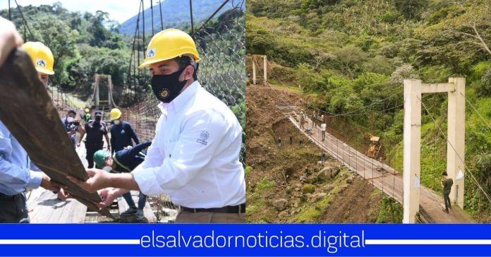Ministerio de Obras Públicas da inicio a la construcción del moderno puente y calle a las familias de Guadalupe, San Vicente