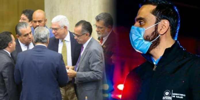 Diputados desaprueban informe de labores del Ministro de Salud Francisco Alabi