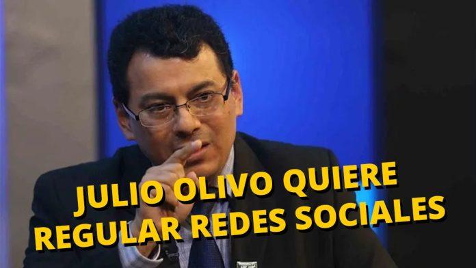 Julio Olivo quiere regular las redes sociales a favor de ARENA y FMLN; planea cohartar la libertad de expresión durante las elecciones.
