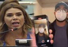 La diputada arenera, que se hace llamar defensora del genero, Marcela Villatoro, sale a defender a violentador de mujeres.