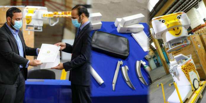 Qatar realiza millonario donativo de equipo de última tecnología e insumos médicos a El Salvador para el combate de la pandemia