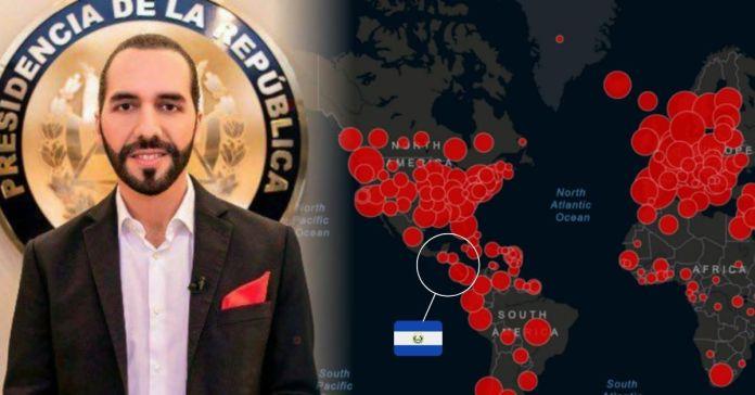 El Salvador es catalogado como uno de los países en todo el mundo con menos personas fallecidas por COVID-19