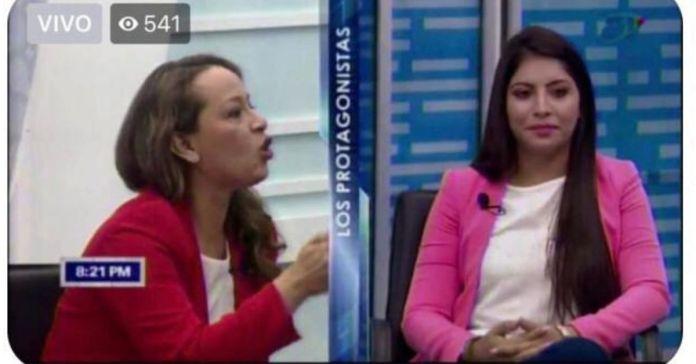 Sulen Ayala explota en plena entrevista, luego que candidata a diputada de GANA le dijera las cosas en su cara