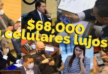 Asamblea Legislativa gastó $68,000 en celulares lujosos con el dinero de los salvadoreñosAsamblea Legislativa gastó $68,000 en celulares lujosos con el dinero de los salvadoreños