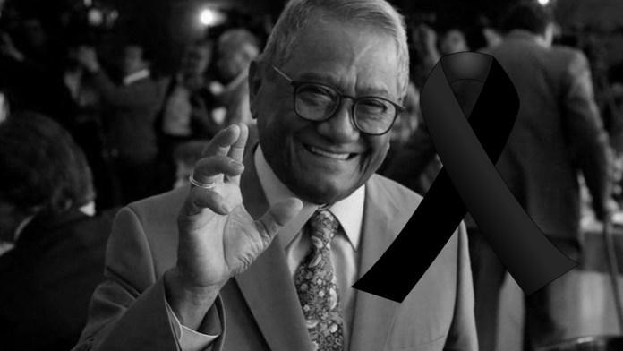 Última hora: Fallece Armando Manzanero por COVID-19, luego de contraerlo y debilitar todo su sistema, falleció a los 86 años de edad