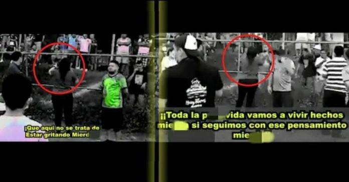 Alcaldesa de ARENA en Cuscatanginco ataca a sus pobladores tratándolos de «MI3RDAS» y «PUT@S»