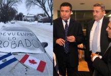 Desde Canadá salvadoreños envían este mensaje a los corruptos diputados de El Salvador