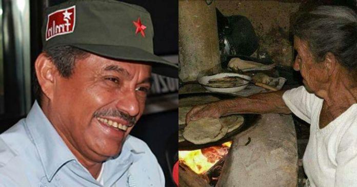 Diablito Ruiz se ríe de los salvadoreños más humilde afirmando que con una tortilla con sal se sustentan todo el día