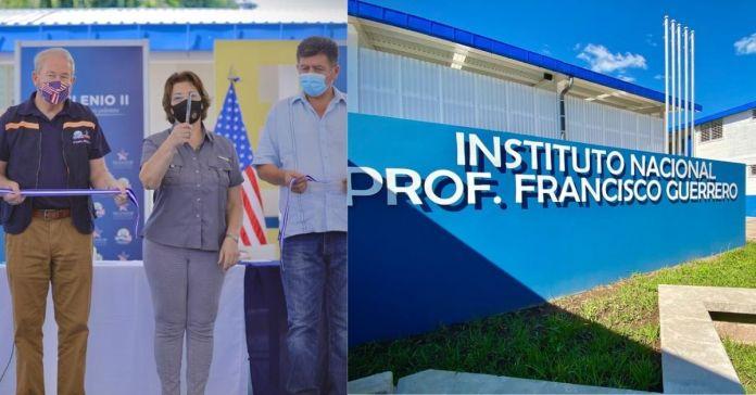 Gobierno y FOMILENIO II inauguran nuevo centro educativo en San Rafael Obrajuelo, La Paz