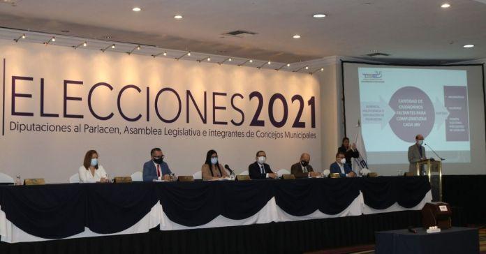 TSE realiza sorteo de ciudadanos que complementarán las JRV en elecciones 2021