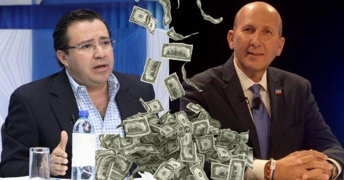 Asesor de ARENA defiende a los corruptos evasores de impuestos