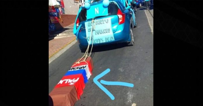 Salvadoreños dejan claro que el 28 f ARENA y FMLN estarán más enterrados que nunca