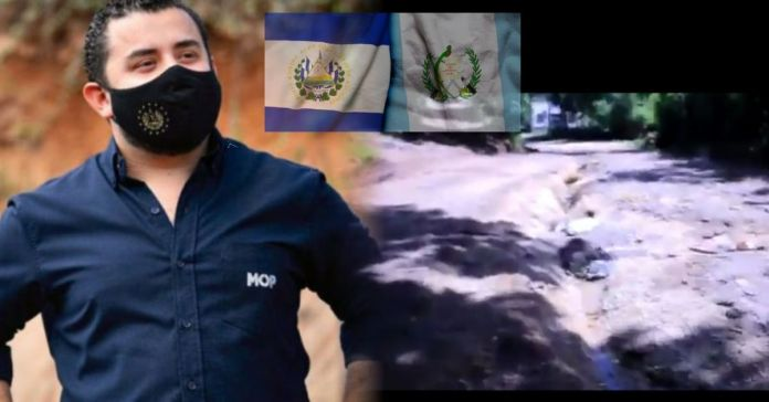 Obras Públicas inicia proceso de pavimentación en calle olvidada por gobiernos anteriores en Cantón La Magdalena, Santa Ana que conectará con Guatemala