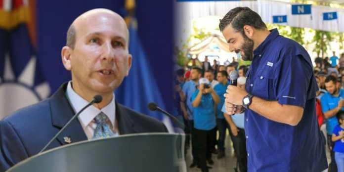 Javier Simán le exige al pueblo que NO voten por Nuevas Ideas el 28 de febrero