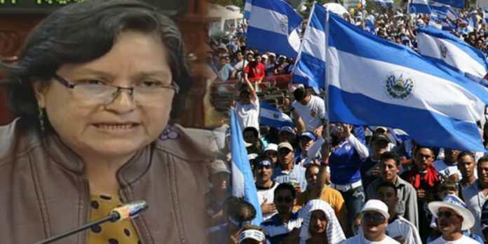 Diputada del FMLN se refiere a los salvadoreños como HDP y pendej*s por enojo al no recibir sus votos