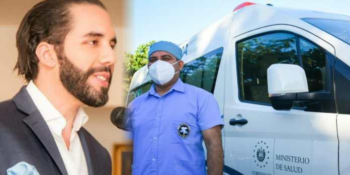 Gobierno continúa equipando con más ambulancias el sistema de salud para seguir dignificando la atención a los salvadoreños