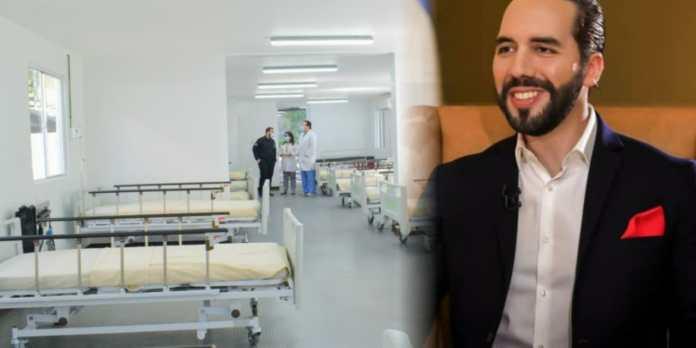 Gobierno entrega nueva y moderna área para hospitalización de pacientes con COVID-19 en el Hospital Zaldaña