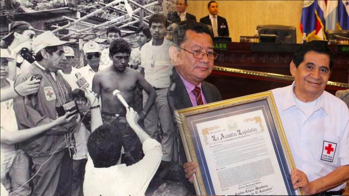 El vocero de la Cruz Roja, Don Carlos, se retira luego de 43 años de servicio como rescatista y otros cargos dentro de la institución