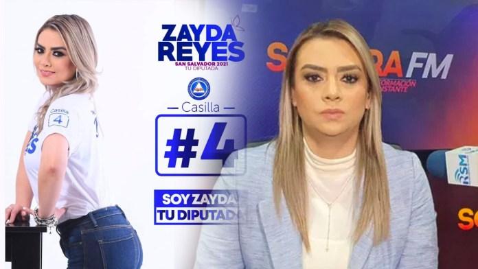 Zayda Reyes ha sido el hazme reír por su foto en redes sociales por su campaña política muy mal pensada ante las siguientes elecciones