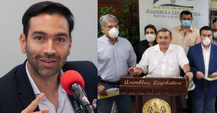 Diputado de Colombia denuncia al partido ARENA de El Salvador, por robar y hacer plagio de su spot para hacer campaña