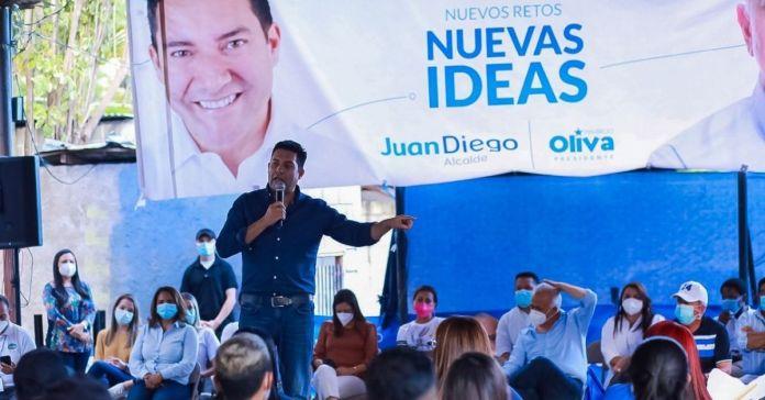 Candidato a alcalde en Honduras roba identidad del partido Nuevas Ideas para su campaña