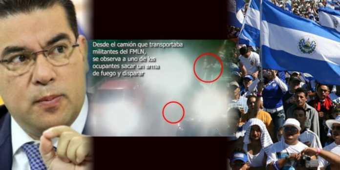 Salvadoreños condenan que Melara haya manipulado evidencia para ocultar que simpatizantes del FMLN realizaron tiroteo