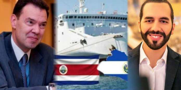 Representante del Banco Mundial felicita a Bukele por el ferry entre El Salvador y Costa Rica, afirma que es una estrategia que impactará de manera positiva la economía