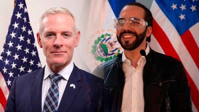 El embajador Estados Unidos felicita al Salvador por la obtención de la vacuna contra el COVID-19, debido a su buen desempeño