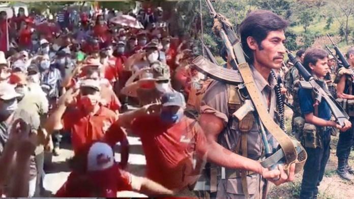 """El FMLN pone en formación militar a sus militantes por que """"una guerra se aproxima"""", ante el peligro que sienten de perder las elecciones"""
