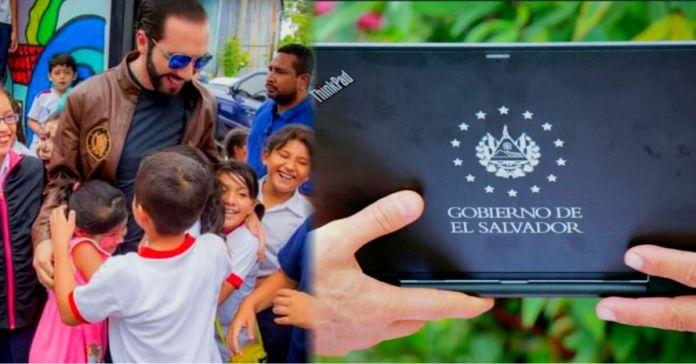 El Salvador es catalogado como el primer país de América Latina en proveer computadoras al 100% de sus estudiantes del sector público con Internet gratis