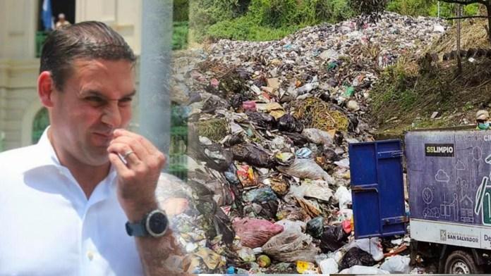 MIDES no puede hacerse cargo de la basura de San Salvador porque Neto no tiene contrato, hace mucho se dejó de pagar recolección de basura
