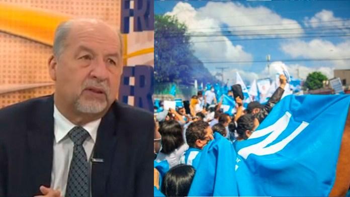 Salvadoreños condenan a Guillermo Wellman por despedir y tratar de manipular las elecciones, ante el catastrófico desempeño del TSE