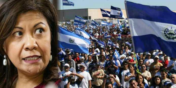 Norma Torres califica de «troles» a todos los que apoyan al Norma Torres califica de «troles» a todos los que apoyan al Presidente BukelePresidente Bukele