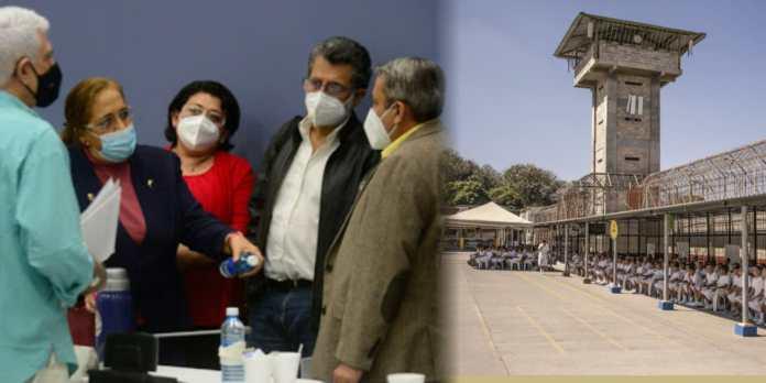 Salvadoreños piden que en Mariona se construya con urgencia sector 10,11 y 12 como mínimo para nuevos inquilinos