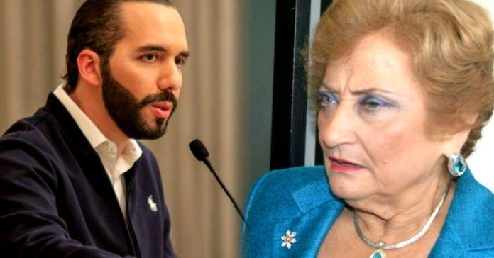 Presidente Bukele cuestiona a Milena de Escalón si podrá sobrevivir con todo lo robado ya que el 1 de mayo queda desempleada