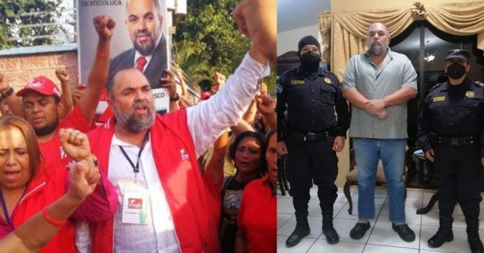 Por acusaciones de negociaciones ilícitas fue capturado el alcalde de Zacatecoluca, Francisco Salvador Hirezi