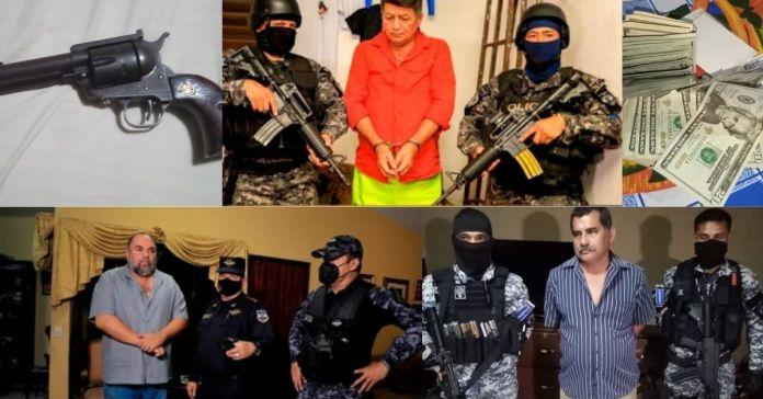 PNC captura a alcaldes y un ex diputado del FMLN por negociaciones ilícitas y por delito de peculado