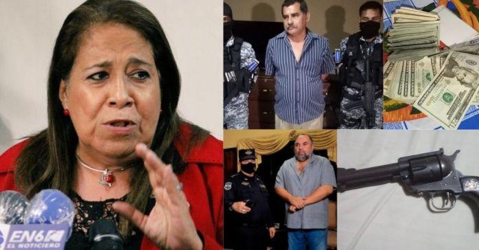 Nidia Díaz afirma estar «sorprendida» con la captura de sus compañeros capturados esta madrugada por actos ilícitos