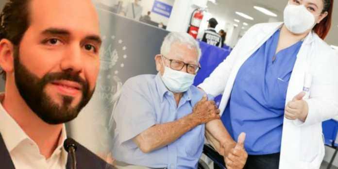 El Salvador sorprende al mundo entero al convertirse en líder de vacunación contra el COVID-19