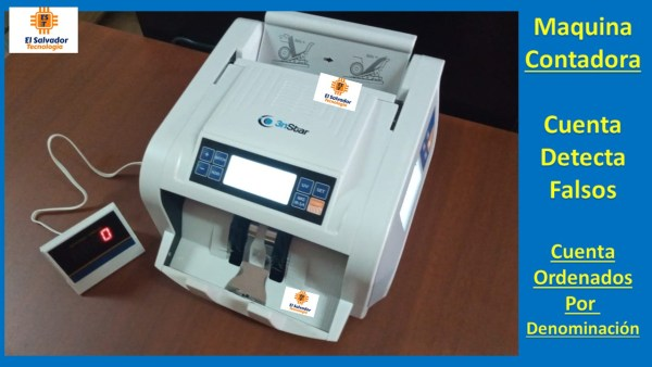 Contadora de Billetes 3nstar-El Salvador Tecnologia-3