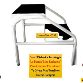 Muebles Hospitalarios Gradilla de 2 Niveles para Clinicas SmartFlex 0053 El Salvador Tecnologia
