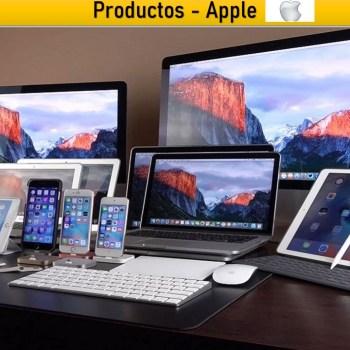 Equipos y Productos Marca Apple