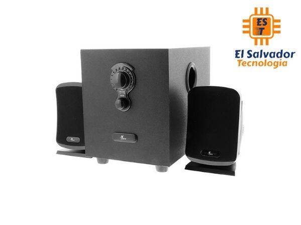 Sistema de parlantes estéreo de 2.1 canales - Augury Xtech XTS-420