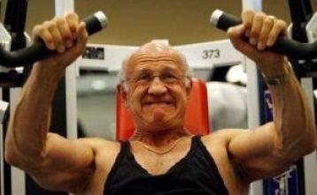ejercicios con pesas envejecientes