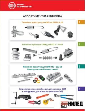 Линейная арматура СИП 0,4 кВ/марки НИЛЕД